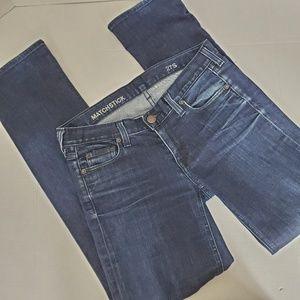 J. Crew Women's Matchstick Skinny Jeans Sz 27 Dark